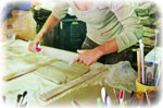 étapes de création du raku