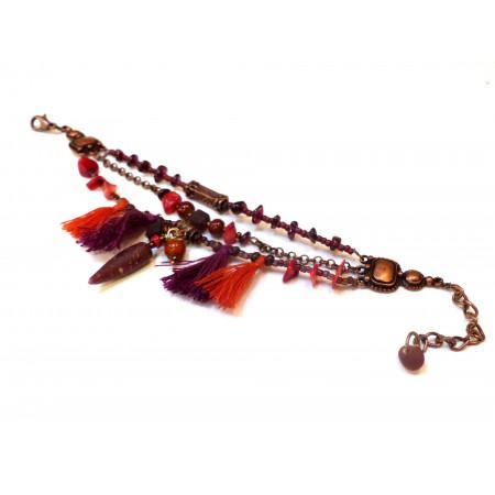 """Bracelet """"Figue Safran"""""""