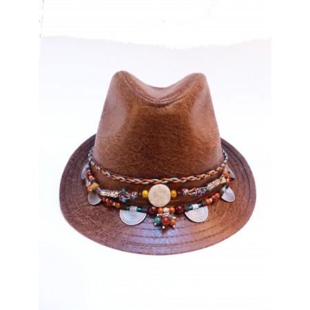 Chapeau à bijou été indien sables