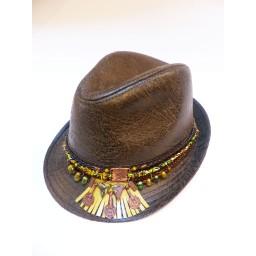 """Chapeau à bijou """"Cumbawa"""""""